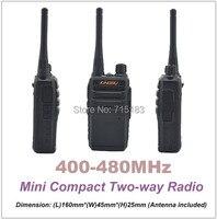 Çocuklar Mini telsiz KINGRU Mini UHF 400-480 MHz 16CH Tarama Monitör Acil Alarm El Feneri Iki Yönlü Telsiz Çocuk için