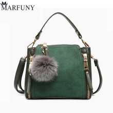 MARFUNY Brand Bucket Crossbody Bags For Women Bag New 2018 Pu Leather Bags Handbags Female Shoulder Bag With Venonat Fashion Sac