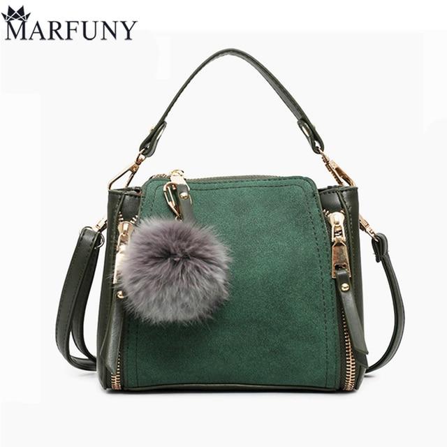 MARFUNY Brand Bucket Crossbody Bags For Women Bag New 2018 Pu Leather Bags Handbags Female Shoulder Bag With Venonat Fashion Sac