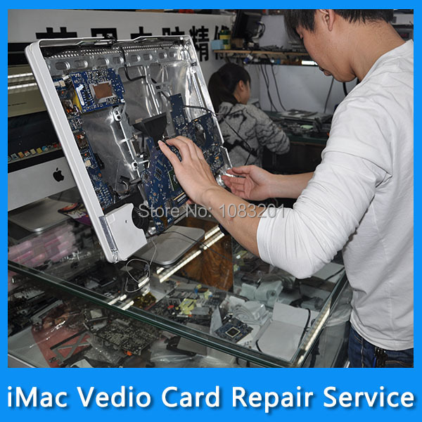 Repair Service for 661-5546 iMac 21.5 A1311 Vedio Card ATI Radeon HD 5670 512MB VGA Card Graphic Card MC508 MC509 Year 2010 free shipping new hd6850 2gb gddr5 256bit game card hdmi vga dvi port 6850 2gb original graphic card ati radeon for desktop