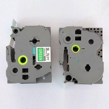 36mm Mixed colors 5 pcs Compatible brother label tape tz laminated tape Tze 165 tze365 tze465 tze565 tze765 PT530/550/3600
