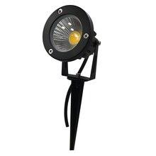 3 Вт 5 Вт 7 Вт 9 Вт 12 Вт Мини светодиодный садовый светильник 12 в 85-265 в наружный IP65 Водонепроницаемый Ландшафтный Точечный светильник белый красный синий зеленый