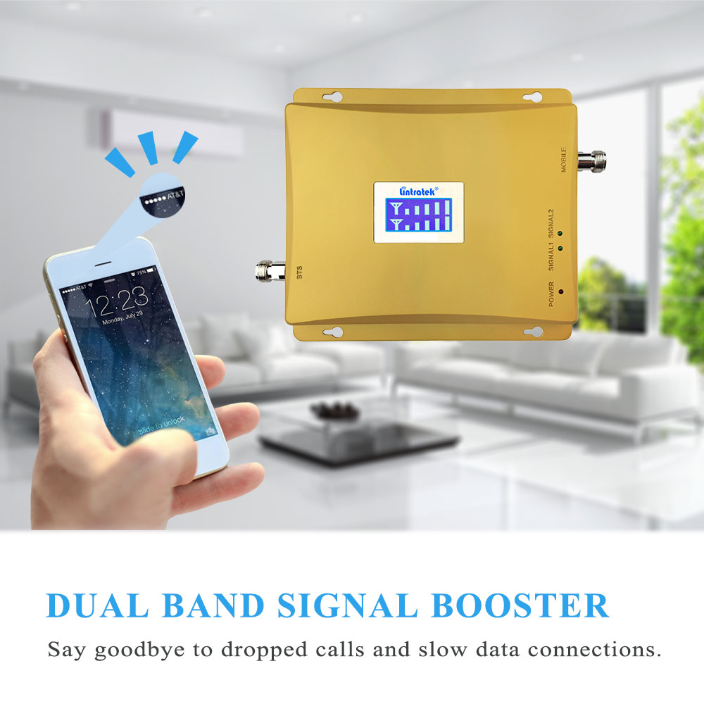 HOT-LCD-Display-3G-W-CDMA-2100MHz-GSM-900Mhz-Dual-Band-Cell-Phone-Signal-Booster-GSM