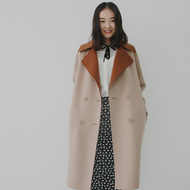 Aliexpress.com : Buy 2017 New Arrival 100% Wool Coat Female ...