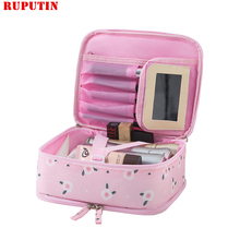 RUPUTIN 2019 New Ins Travel Cosmetic Bag Women Portable Simp