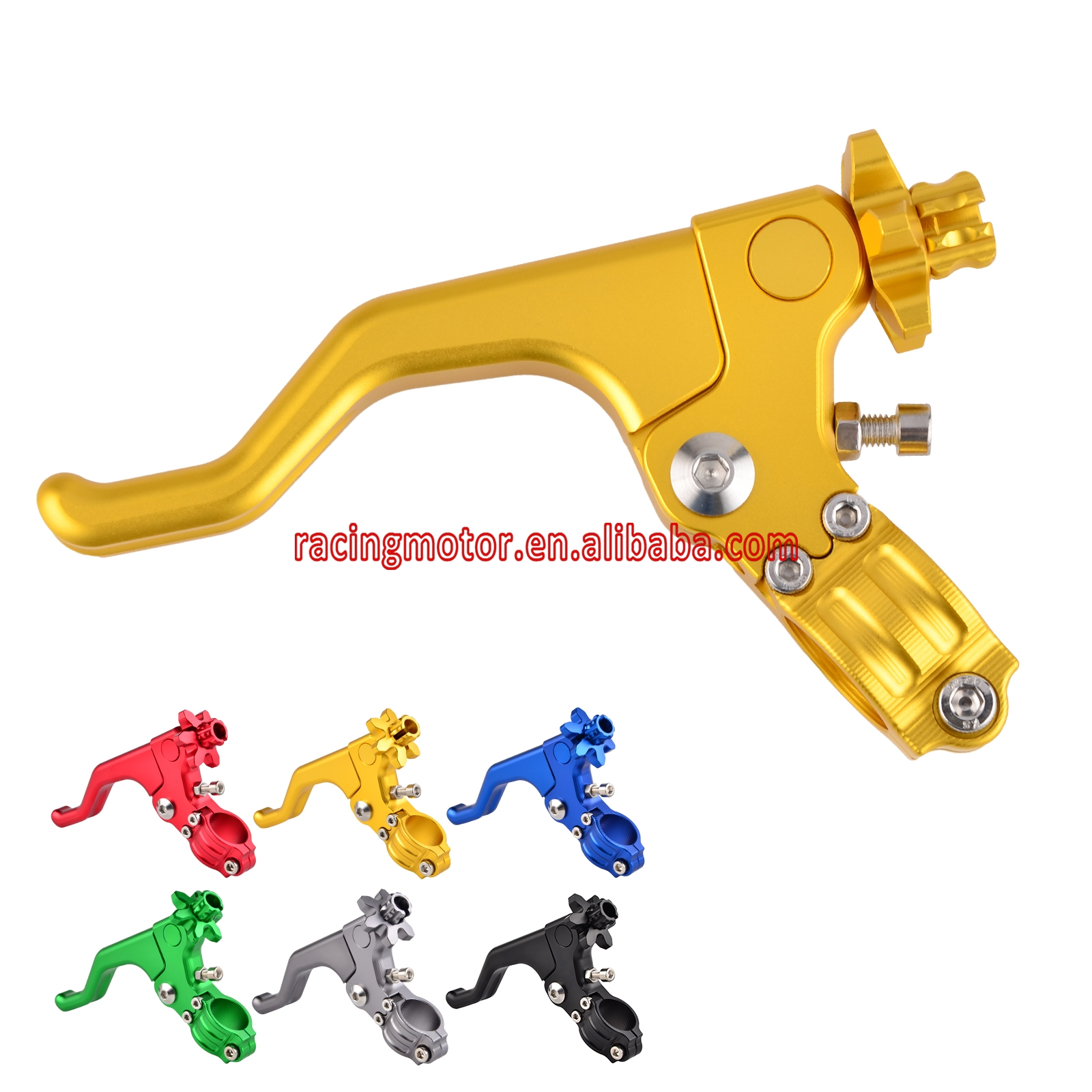 22MM 7/8 CNC Short Stunt Clutch Lever Assembly For Yamaha YZF-R3 YZFR3 YZFR6 YZF-R25 YZFR25 MT-03 MT-25 FZ-09 MT-09 motocross mx dirt bike 22mm 7 8 handlebar cnc short stunt clutch lever perch assembly 6 color options