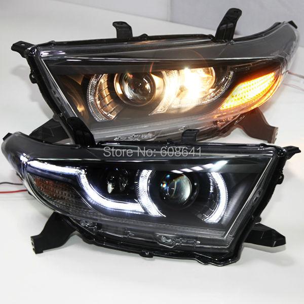 Anul 2012-2013 Kluger Highlander LED Light Light cu proiectorul Bi - Faruri auto