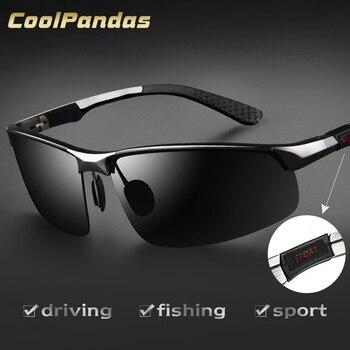 f443c70d7d Los hombres de la marca de aluminio y magnesio, gafas de sol polarizadas HD  UV400 espejo gafas de sol de conducción para hombres, gafas, gafas de sol  para ...
