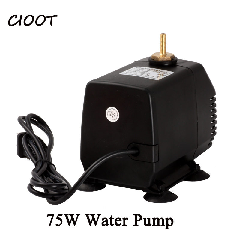 Cioot 75W pump submersible hot High Pressure water pump electronic kits 220V/110v 75W 3.5M for cnc engraving milling machine for blue water pump automatic perssure control electronic switch circuit board 10a hot sale
