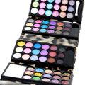 Sombra de ojos Mate y Shimmer Eyeshadow 1 unids 72 color Sombra de Ojos Maquillaje Make Up Kit palatte 8814A4