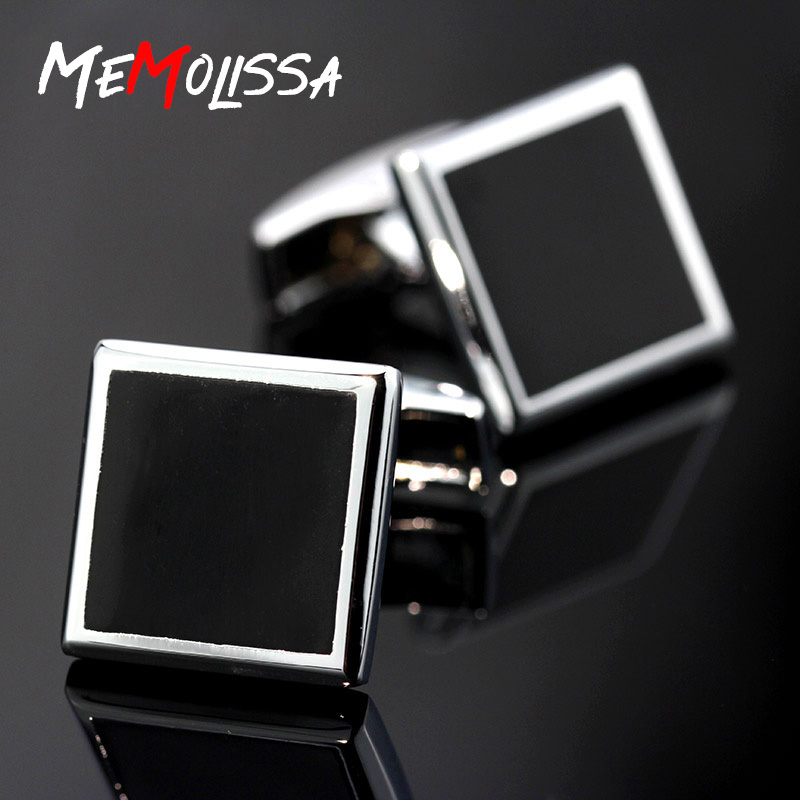 Jewelry Sets & More Constructive Memolissa 2018 New Square Black Opal Mens Cufflinks Wedding Cufflinks High Quality Men Jewelry Removing Obstruction