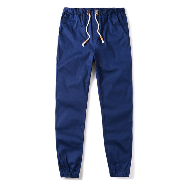 Aliexpress.com : Buy Dark Blue Joggers Plus Size Khaki Jogging ...