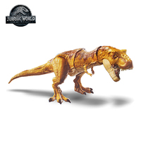 Original Mattel Jurassic World 2 Attack Tyrannosaurus Rex Simulation Sound Action Figure Hot Sale Model Dolls Toys For Children