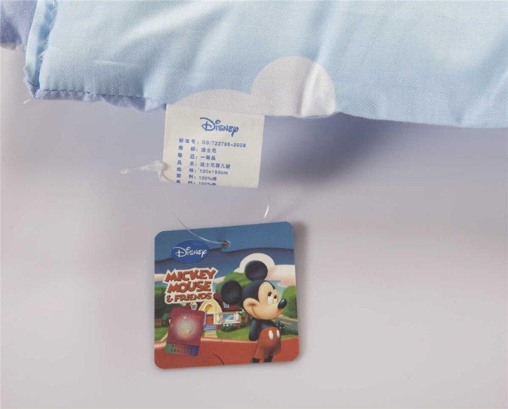 Mickey Mouse COT cuna edredón edredones Disney Ropa de cama algodón ...