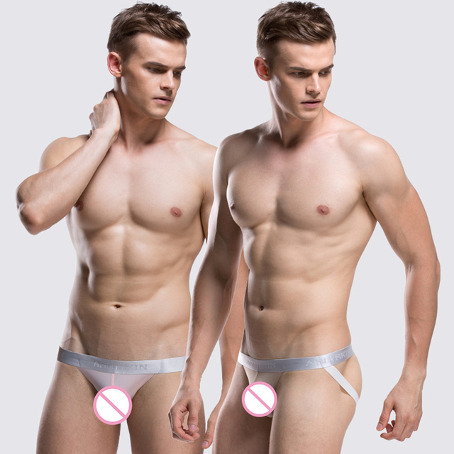 2 pièces/pack sous-vêtements homme Sexy Herenstrings mode Lingerie hommes tongs Jock sangle Bikini string Jockstrap Shorts sous-pantalon
