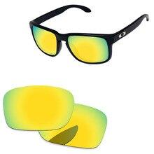 8f8f1d4d8fd0b 24 K oro espejo polarizadas lentes para auténtica Holbrook gafas de sol  marco 100% UVA y UVB protección