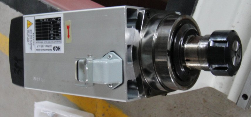 Motore mandrino raffreddamento aria 2.2kw 18000 giri / min 1 pezzo