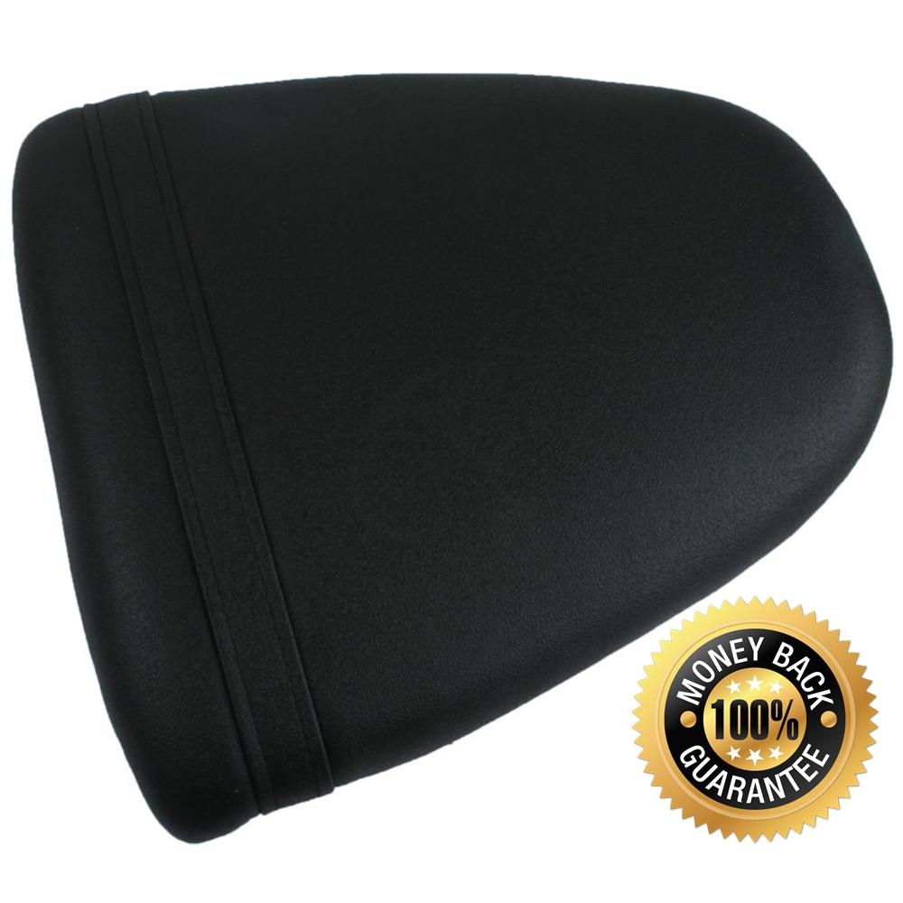 For Suzuki GSXR600 1996-2000 GSXR750 1997-1999 Motorcycle Synthetic Leather Passenger Rear Back Seat Cover Cushion Pillion