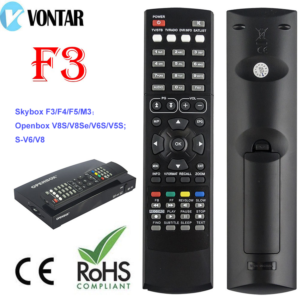 1pc Remote Control for Original Skybox F3 M3 F4 F5 F3S F5S F4S A3 A4 M5 openbox V5S satellite receiver free shipping post image