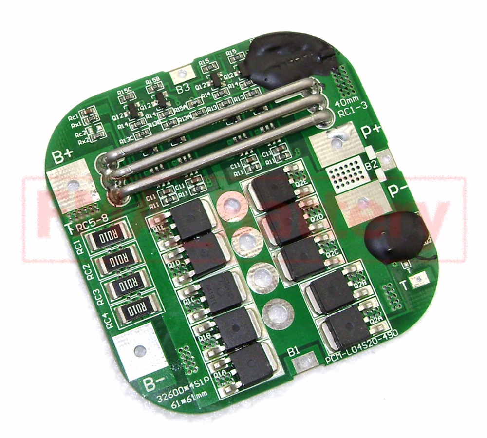 Protection Circuit Module Square Pcm For 3s 108v 111v Li Ion Po 20a Lithium Battery Board Management 4s 128v Lifepo4 Fe Charging