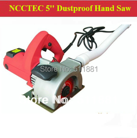 5 Dustless Concrete Hand Saw 125mm Hand Held Electric
