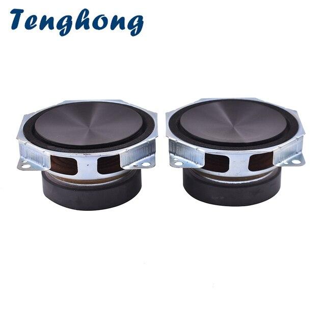Tenghong 2 pièces 3 pouces haut parleur 8Ohm 40W gamme complète haut parleur unité aigus Mediant basse haut parleur milieu de gamme voiture haut parleur klaxon bricolage