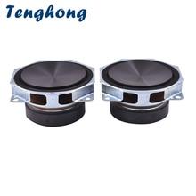 Tenghong 2pcs 3Inch Audio Speaker 8Ohm 40W Full Range Speaker Unit Treble Mediant Bass Loudspeaker Midrange Car Speaker Horn DIY