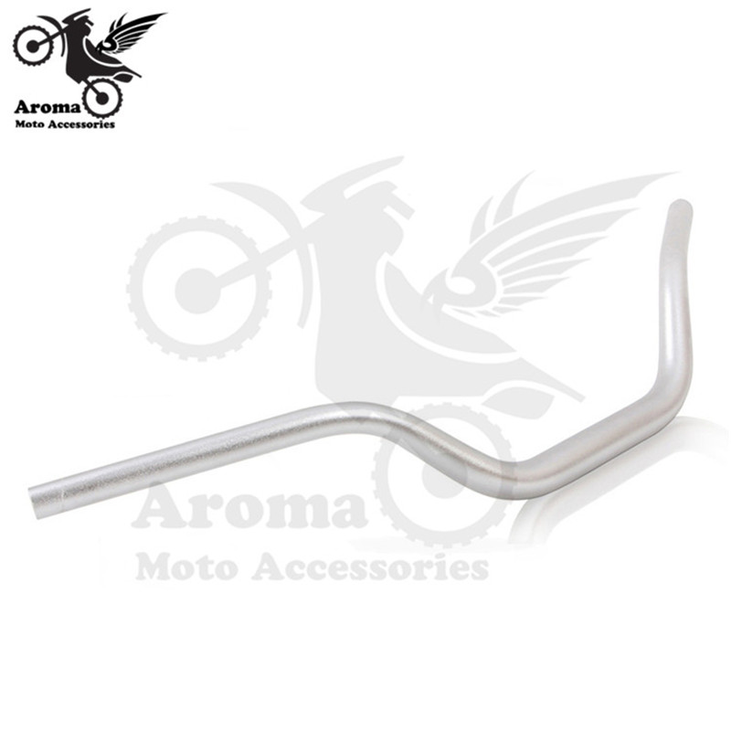 Top Quality Aluminum Alloy Scooter Handle bar Modified Motorbike Handlebar Motorcycle Accessories Retro Dirtbike ATV Handlebar - 4