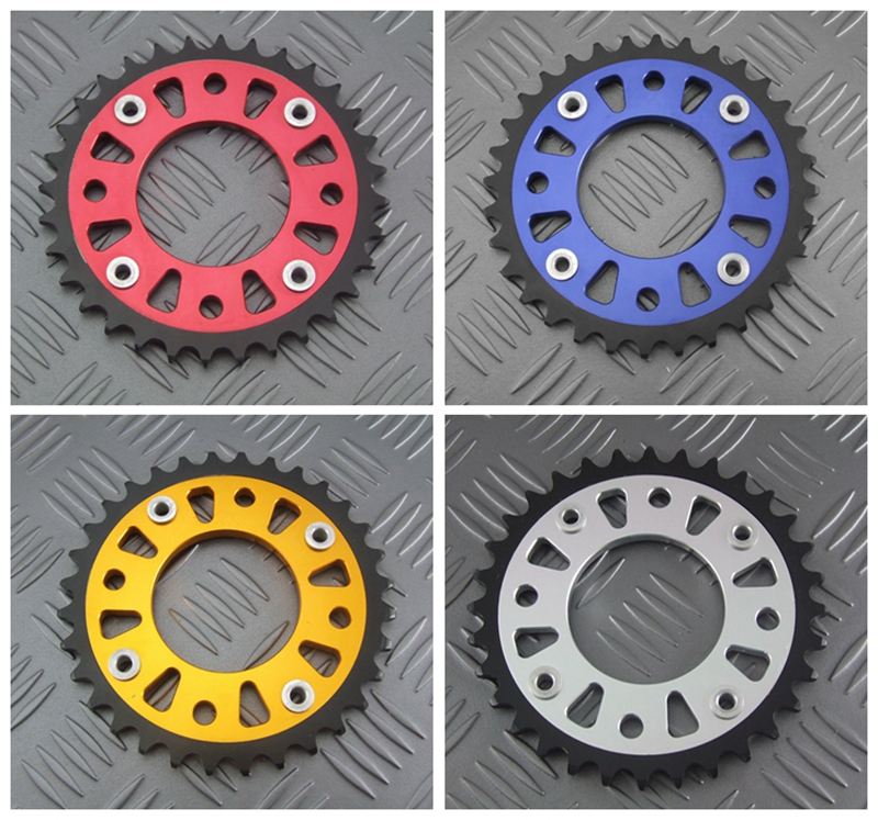 Motorcycle CNC Rear Sprocket For HONDA GROM MSX125 MSX125SF For 420 specifications chain