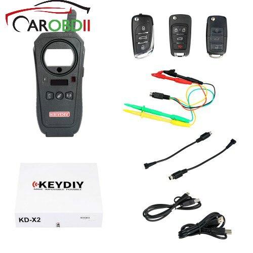 KD-X2 Clé De Voiture De Porte De Garage À Distance KEYDIY KEYDIY KD-X2 Clé De Voiture De Porte De Garage À Distance kd x2 Generater/Puce Lecteur /fréquence