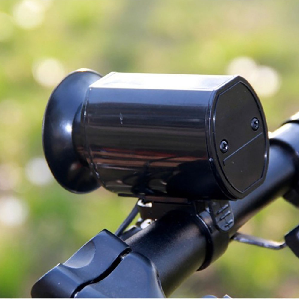 Newest High Quality Super Sounds Loud Electronic Bicycle Bell Bike Horn Siren Cycling Handlebar Ring Alarm Speaker