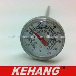 Bimetaliczny termometr kotłowy w Wskaźniki temperatury od Dom i ogród na