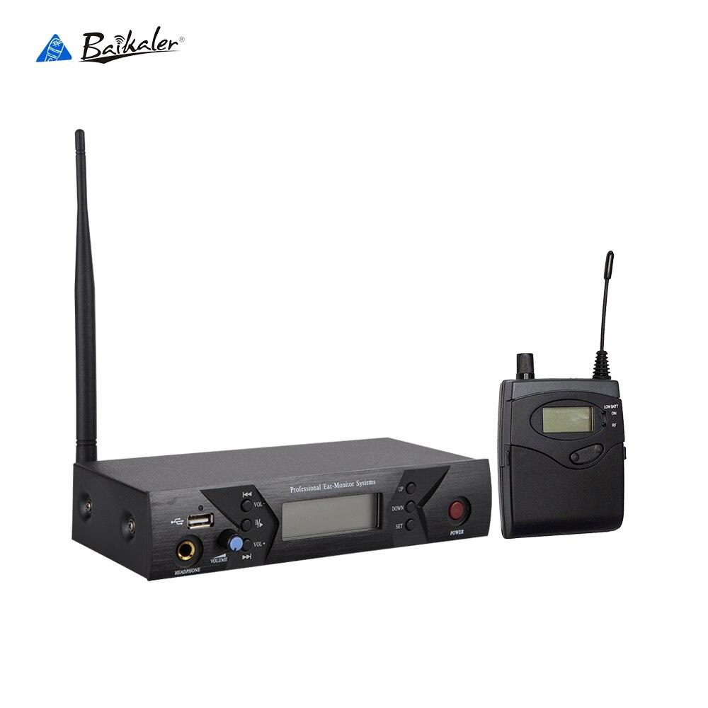 Nowy Wireless w ucho monitor systemu ucha systemy monitorowania bezprzewodowy etap monitor systemu IEM osobisty monitor z wejście usb