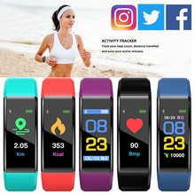 Color Screen Smart Bracelet Waterproof Ip67 Blood Pressure Fitness Tracker Heart Rate Monitor Smart Band Sport For Apple Iphone color screen smart bracelet waterproof ip67 blood pressure fitness tracker heart rate monitor smart band sport for apple iphone