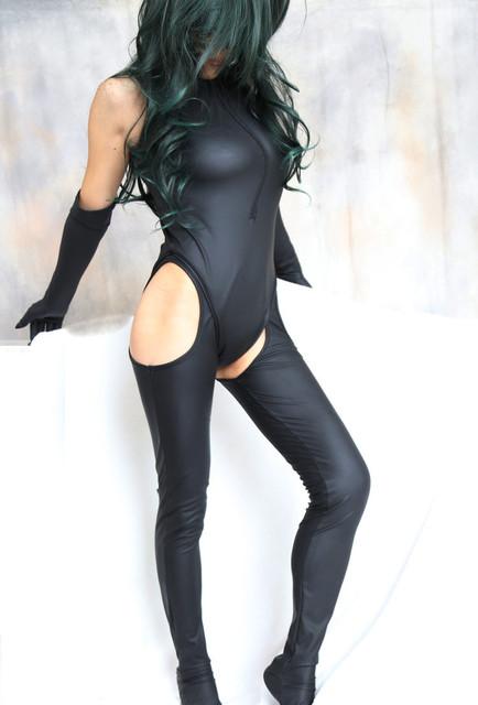 Bondage Restraints Sexy Black Patent Leather Bondage Sex Toys Flirt Hot Clothes Clothing Performance adult games