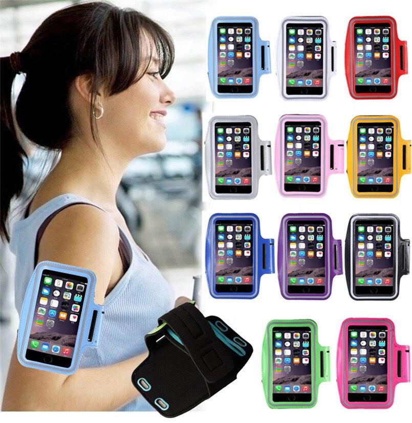 Universal Sport Running Arm Band Case For LG G2 G3 G4 G5 G3S S Beat K8 K10 Magna Leon Spirit Gym Waterproof Arm PU Phone bag