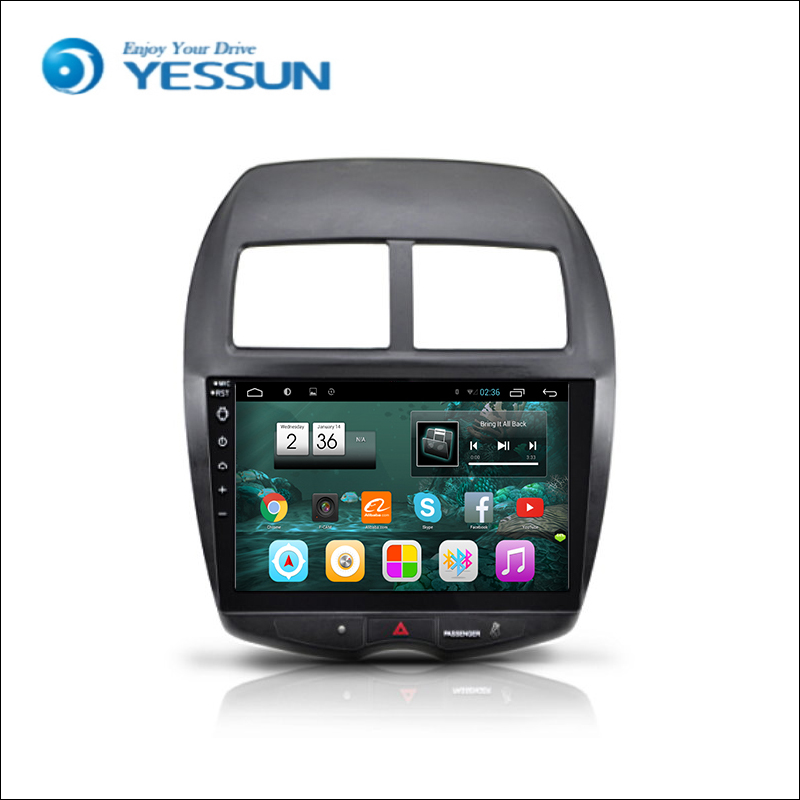 for mitsubishi asx 2011 2016 car android media player system autoradio radio stereo gps. Black Bedroom Furniture Sets. Home Design Ideas