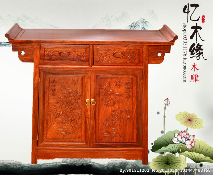 Rosewood furniture, rosewood wooden head, solid wood antique Buddha cabinets, entrance, dining side cabinets, furniture, storage чемодан большой l verage travel gm16036w28 gm16036w28 opal