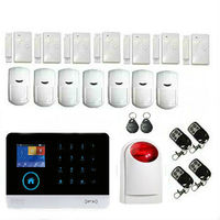 Yobang Security Russian Spanish Engish French wifi/GSM alarm system Home seccurity alarm systems smart alarm system