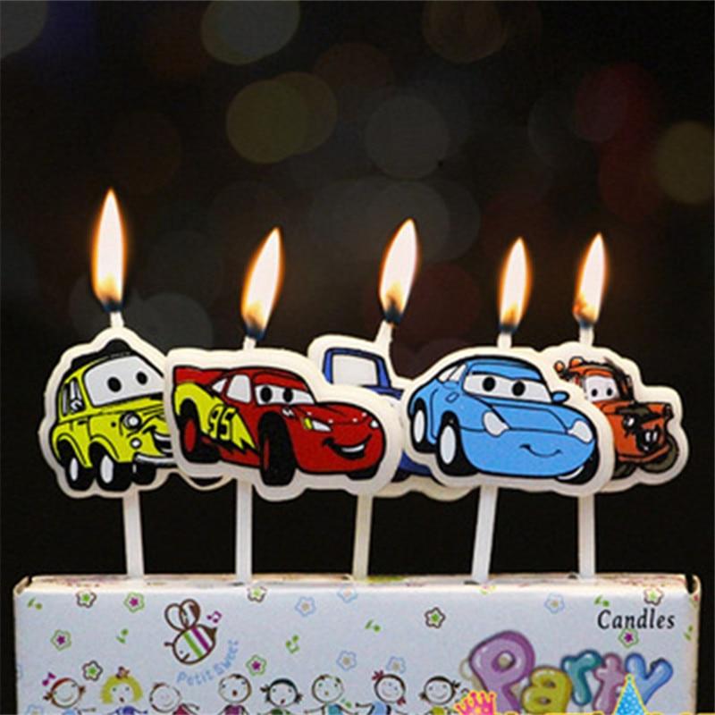 Hot Sale 5pcs Lot 95 Cars Lightning Mcqueen Party Supplies Kids