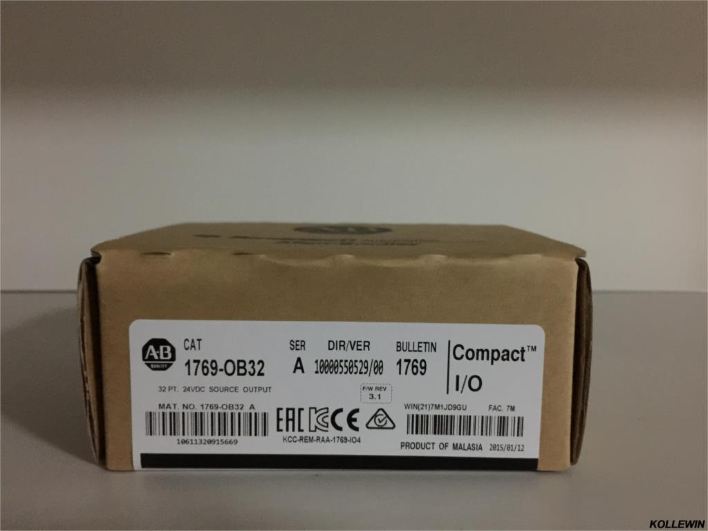 compare prices on compactlogix plc online shopping buy low price ship new original allen bradley 1769 ob32 compactlogix 32 pt 24vdc d o module