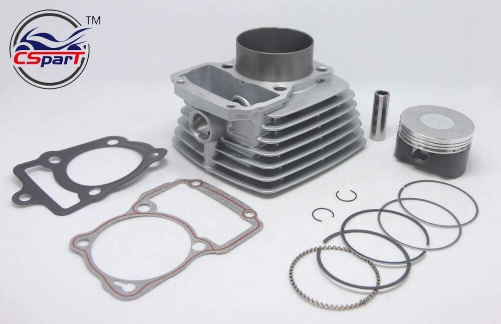 65,5mm Big bore Kit Ändern air 200CC zu 250CC Zongshen Shineray Bashan Taotao Dirt Bike Pit ATVs Quad