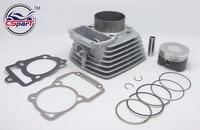 65.5mm Big bore Kit Change air 200CC to 250CC Zongshen Shineray Taotao Dirt Bike Pit ATVs Quad
