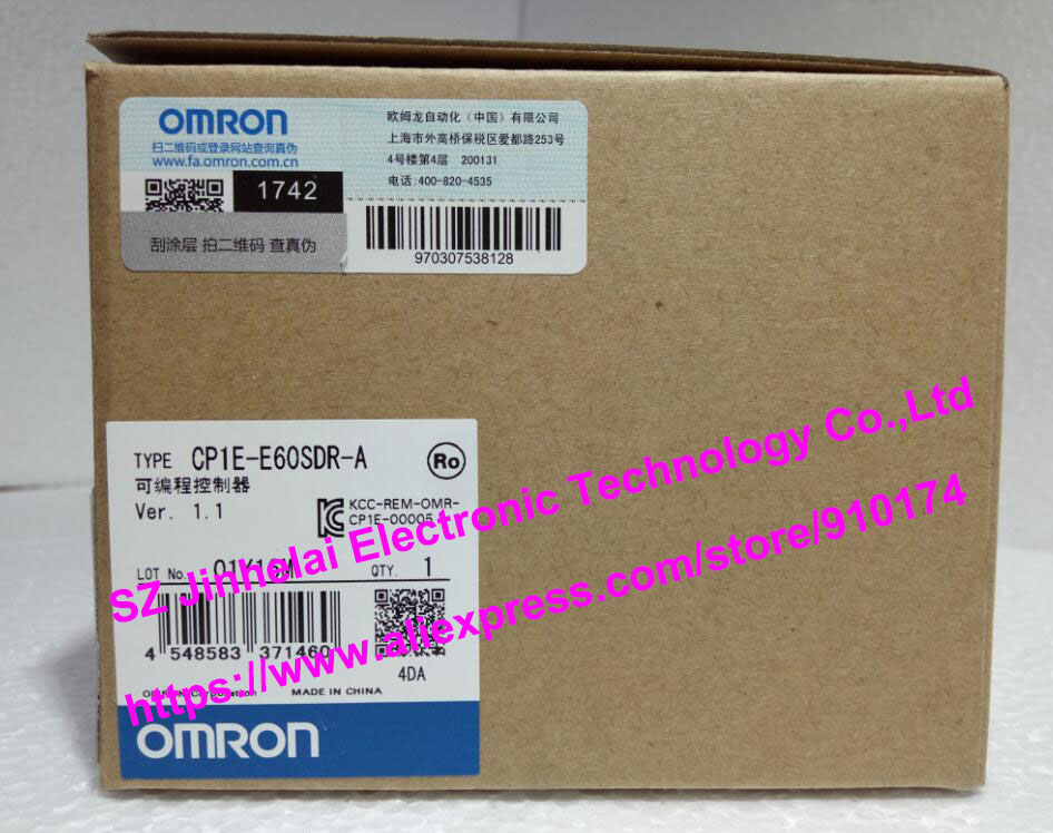 все цены на  New and original CP1E-E60SDR-A OMRON  Programmable controller  онлайн