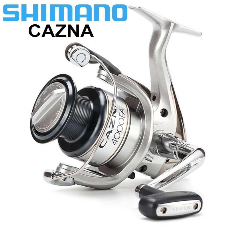 SHIMANO CAZNA 2500FA/4000FA Spinning Fishing Reel 3+1BB with AR-C Spool Rigid Body Spinning Fishing Reel maudio