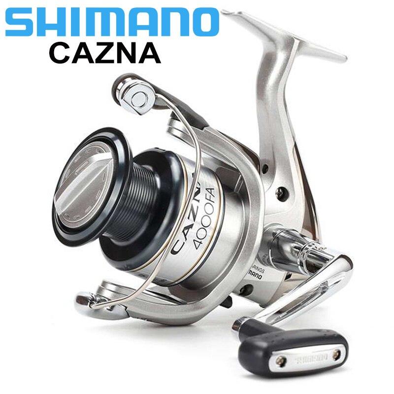 Bobine de pêche rotative SHIMANO CAZNA 2500FA/4000FA 3 + 1BB avec bobine de AR-C