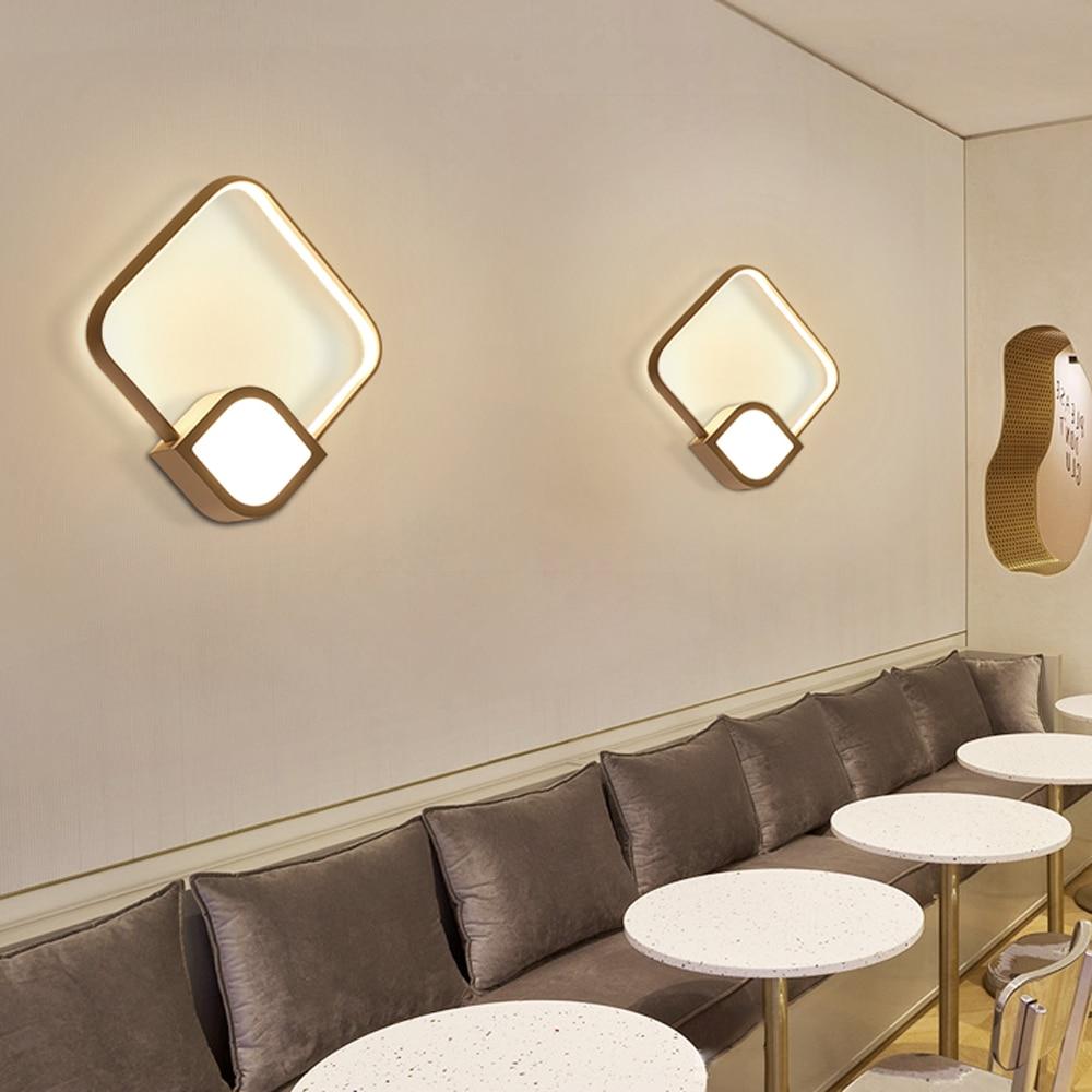 Wall Lamp Led Mirror Wall Light Modern Decor Wandlamp Bathroom Home ...