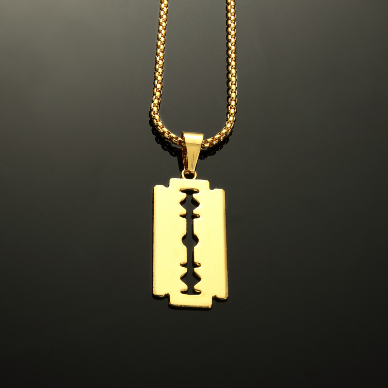 Wholesale bling charm nightclub small blade men women hip hop wholesale bling charm nightclub small blade men women hip hop necklaces pendants chains rapper jewelry gifts mozeypictures Choice Image