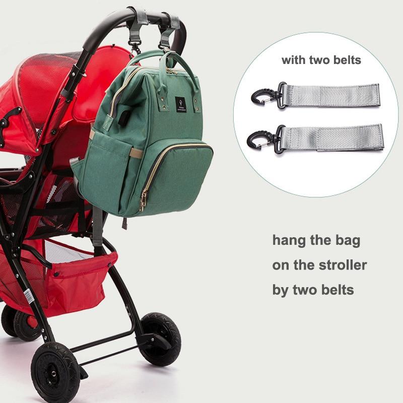 HTB1vMEVcmMmBKNjSZTEq6ysKpXak Baby diaper bag mommy stroller bags USB large capacity waterproof nappy bag kits mummy maternity travel backpack nursing handbag