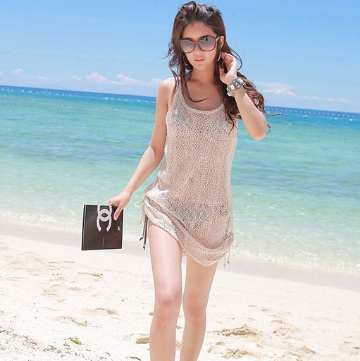 Cover Up Swimsuit Beach Wear Clothes Swimming Loose Dress Swimwear Smock Top Shirt On Aliexpress Alibaba Group